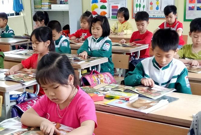 Từ năm học 2020 - 2021 học sinh lớp 1 sẽ học SGK mới. Ảnh: Hồng Vĩnh