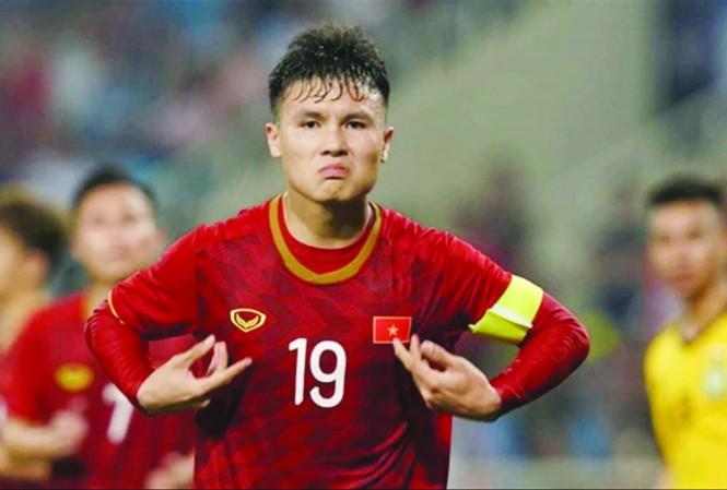 Quang Hải trở lại là tin vui với HLV Park Hang Seo. Ảnh: CTV