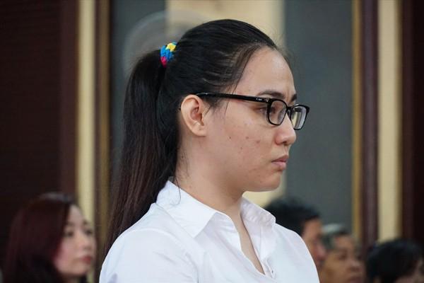 Trần Kim Yến tại phiên tòa            Ảnh: Tân Châu