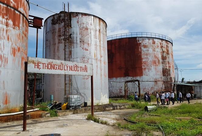 Nhà máy đường của Cty Long Mỹ Phát tại thị xã Long Mỹ, tỉnh Hậu Giang Ảnh: N.H