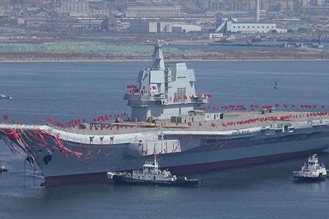 Tàu sân bay Sơn Đông   ảnh: ifeng