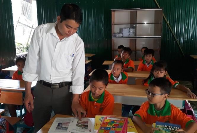 Nhiều thầy cô ở Thanh Hóa lo lắng khi tham gia thăng hạng giáo viên. Trong ảnh là 1 lớp học tại bản Sa Ná, xã Na Mèo, huyện Quan Sơn, Thanh Hóa