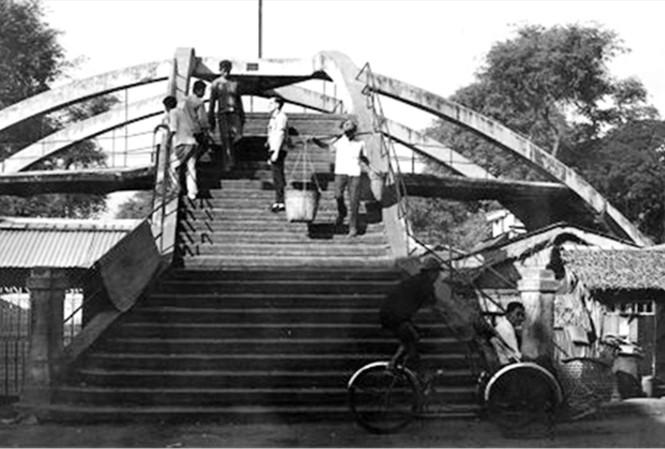 Cầu Ba Cẳng, công trình kiến trúc độc nhất vô nhị đã bị xóa sổ ảnh tư liệu