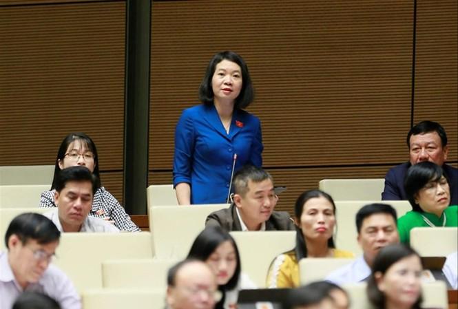 Ủy viên Thường trực Ủy ban Tư pháp Mai Thị Phương Hoa đề nghị bổ sung các quy định để ngăn chặn tình trạng đùn đẩy, né tránh tham gia công tác giám định tư pháp ảnh: Như Ý