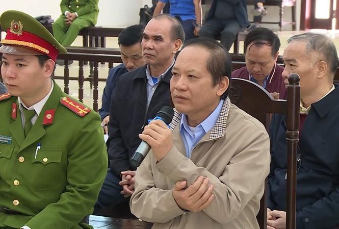 Bị cáo Trương Minh Tuấn
