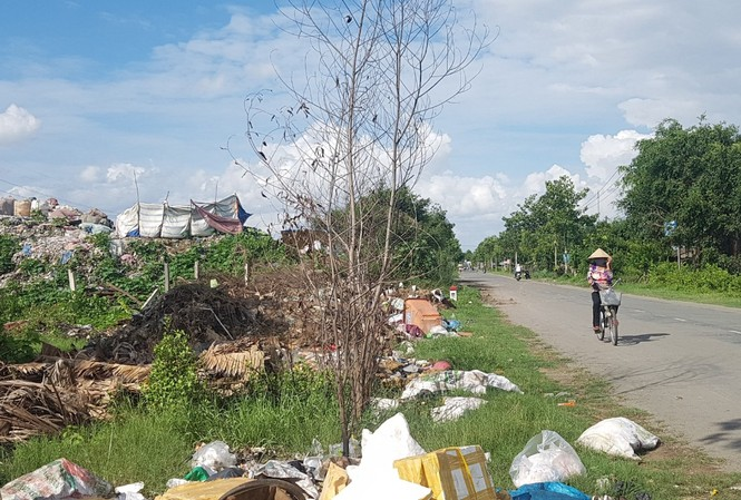 Bãi rác thành phố Trà Vinh