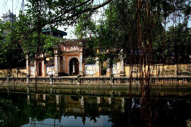 Khu vực đền thờ Nguyễn Trãi tại xã Nhị Khê