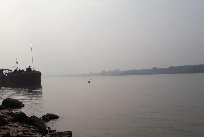 Khu vực trạm bơm thô của Nhà máy nước sạch sông Đuống lấy nguồn nước đầu vào Ảnh: Nguyễn Thắng