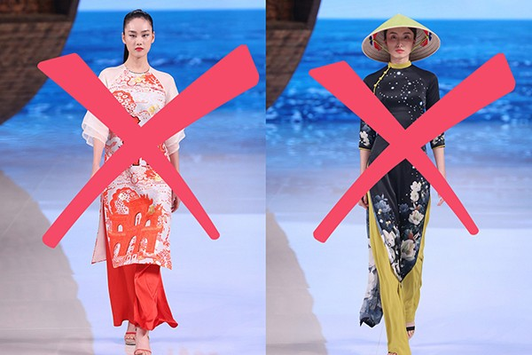 """Trang phục mà 1 NTK Trung Quốc bị lên án vì sao chép áo dài Việt Nam, rồi được truyền thông Trung Quốc gọi là """"phong cách Trung Quốc"""""""