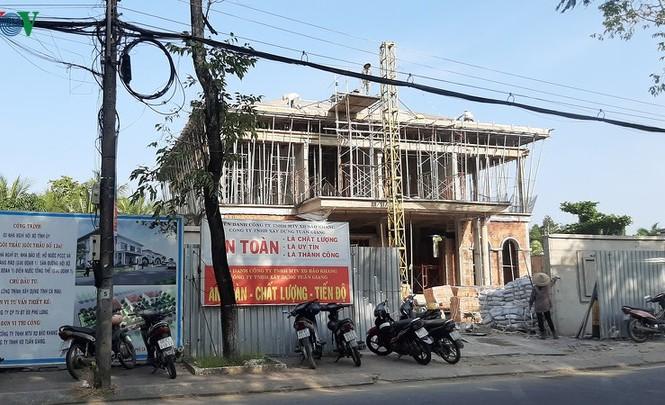 Thường trực Tỉnh ủy Cà Mau đã thống nhất điều chỉnh dự án nhà nghỉ nội bộ Tỉnh ủy - Ảnh: VoV