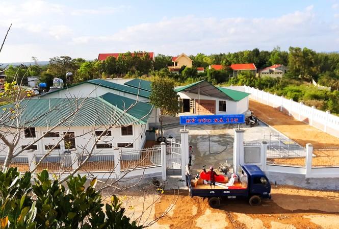 Toàn cảnh Ký túc xá 115 tại xã Ea Dah (Krông Năng, Đắk Lắk)