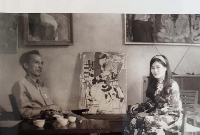 """Bùi Xuân Phái và """"nàng thơ"""" Văn Dương Thành"""