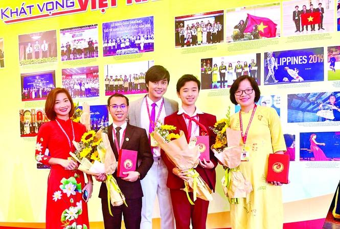 Các Gương mặt trẻ Việt Nam tiêu biểu và triển vọng năm 2019 tham gia Đại hội Tài năng trẻ Việt Nam lần thứ 3, năm 2020