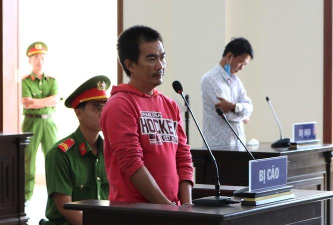 Bị cáo Sang tại phiên tòa - Ảnh: Kim Hà.