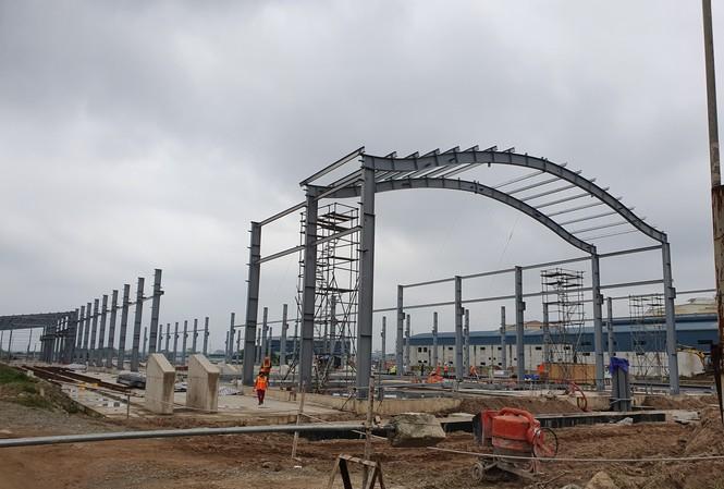 Khu Đề pô (ga đầu mối) cho dự án đường sắt Nhổn - Ga Hà Nội)