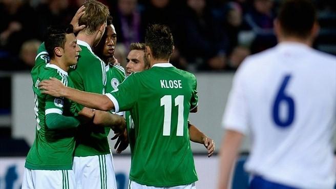 Châu Âu nín thở chờ Đức và Bỉgiành vé tới World Cup 2014
