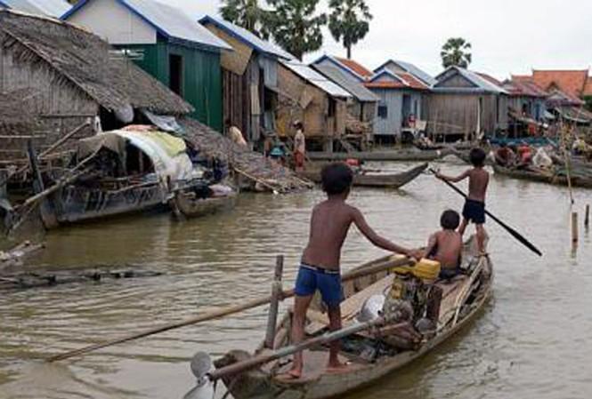 104 người chết vì mưa lũ ở Campuchia