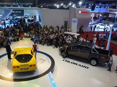 GM mang Corvette C6 tới triển lãm