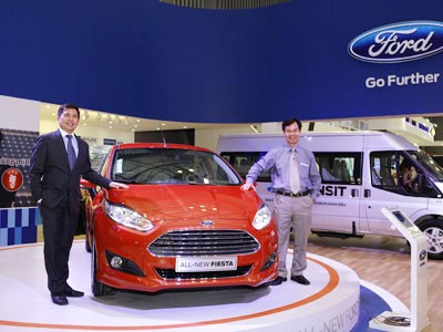 Ford ra mắt Fiesta EcoBoost 1,0L