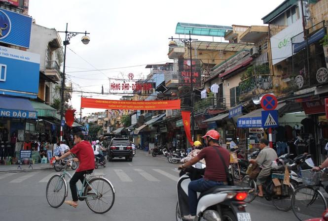 Di dời 1.530 hộ dân khỏi phố cổ Hà Nội
