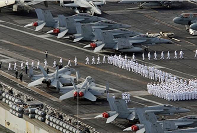 Triều Tiên dọa 'nhấn chìm' tàu sân bay Mỹ