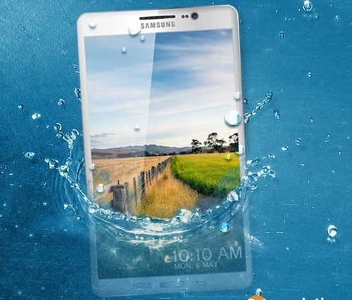 Smartphone Galaxy S5 có thể chống nước và bụi