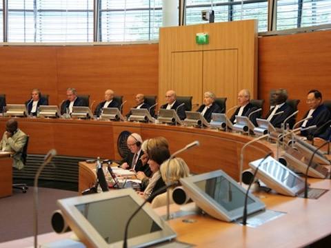 Một phiên xử của Tòa án Quốc tế về luật biển (ITLOS)