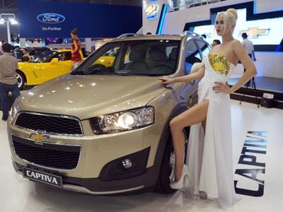 GM ra mắt Chevrolet Captiva mới