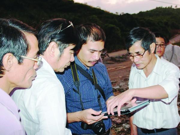 Lòng đất phát tiếng nổ ở Quảng Nam do động đất