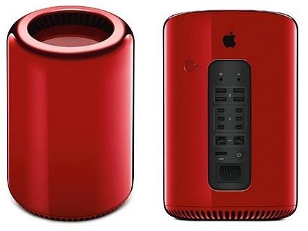 Mac Pro màu đỏ giá 1,2 tỷ đồng