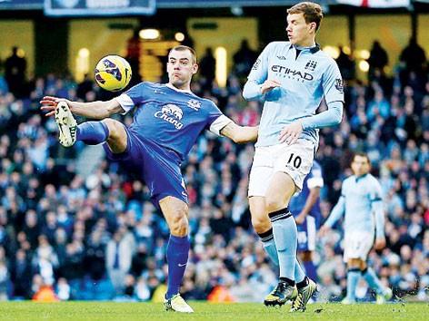 Man City với bài toán khó Everton