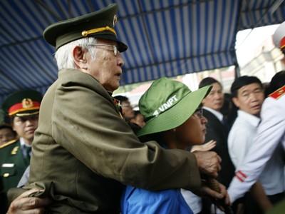 Hình ảnh xúc động trong ngày viếng Đại tướng