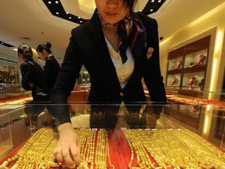 Vàng trong nước lên sát 37,5 triệu đồng/lượng