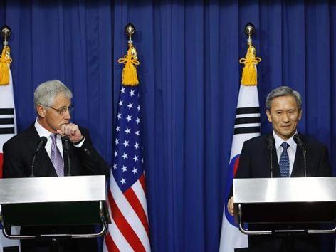 Mỹ-Hàn ký thỏa thuận đối phó Triều Tiên