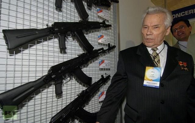 Cha đẻ súng AK-47 nhập viện