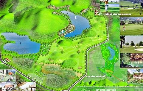 11 dự án sân golf buộc phải nhường chỗ