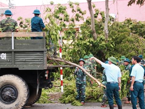 Miền Trung thiệt hại trên 1.500 tỷ đồng vì bão số 11
