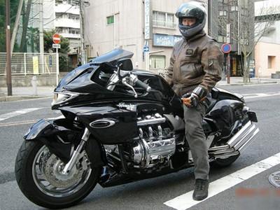 Honda Valkyrie phiên bản độ 'Vua rồng'