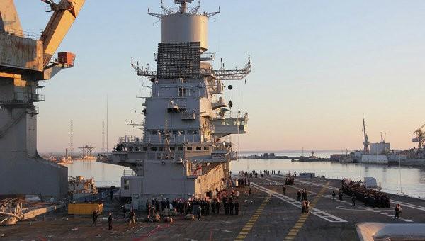 Tàu sân bay Ấn Độ sắp rời lãnh hải Nga