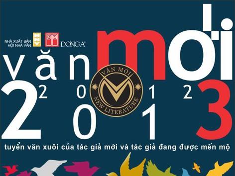"""Ra mắt tuyển tập """"Văn mới 2012 – 2013"""""""