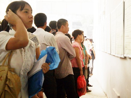 Ngại thống kê số sinh viên thất nghiệp