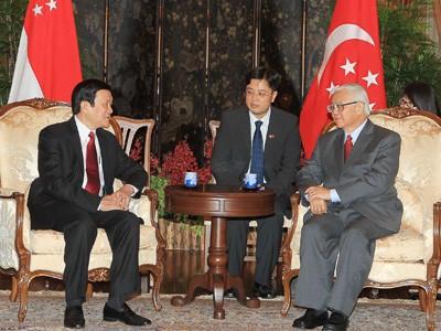 Việt Nam, Singapore tăng cường hợp tác nhiều mặt