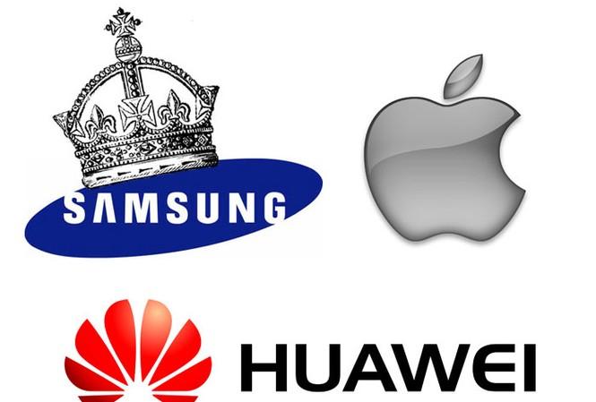 Samsung bỏ xa Apple trong thị trường smartphone