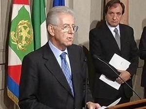 Ông Mario Monti, thủ tướng tạm quyền Italy