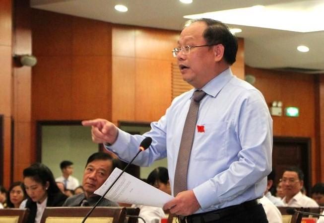 Đại biểu Tất Thành Cang, cựu Phó Bí thư Thường trực Thành ủy TPHCM
