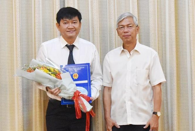 Bổ nhiệm Tổng giám đốc Tổng công ty cấp nước Sài Gòn