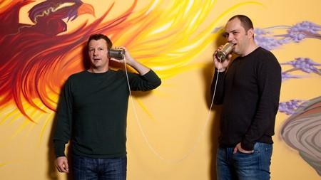 Brian Acton và Jan Koum, hai đồng sáng lập của WhatsApp
