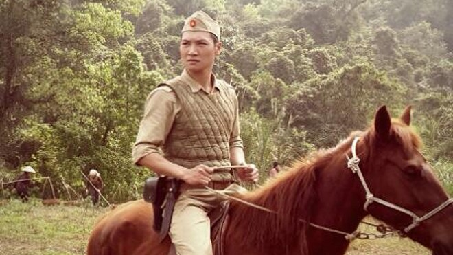 Mạnh Trường hội ngộ khán giả qua vai diễn Hùng trong bộ phim Đường lên Điện Biên.