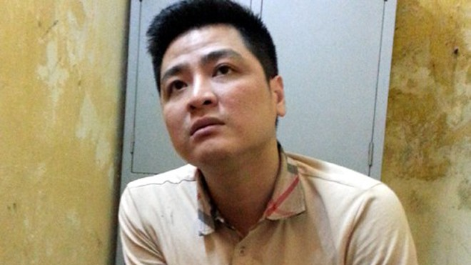 Hiệp ân hận về việc làm của mình. Ảnh: Việt Đức.