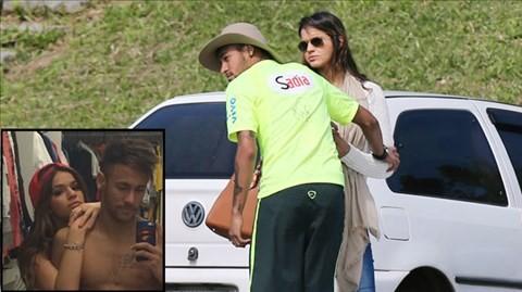 Neymar thăng hoa nhờ nối lại tình xưa với Bruna